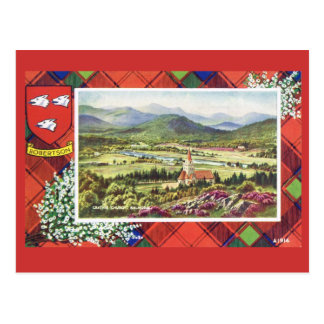 Vintage Escocia Robertson Balmoral Postal
