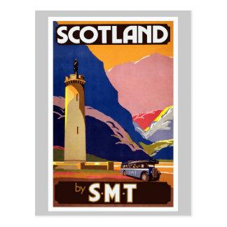 Vintage Escocia Tarjeta Postal