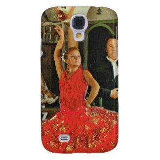 Vintage España, bailarines del flamenco Funda Samsung S4
