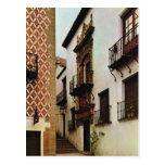 Vintage España, Barcelona, pueblo Espanol Postales
