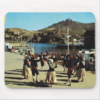 Vintage España, catalán, danza Sardane Tapetes De Ratón