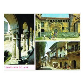 Vintage España, Santillana Del Mar, Santander Tarjetas Postales