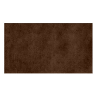 Vintage Espresso Dark Brown Antique Paper Template Business Card