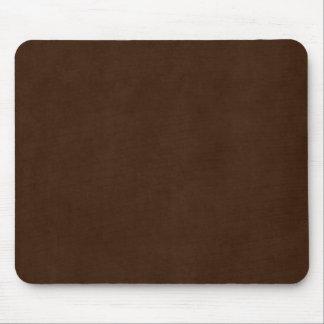 Vintage Espresso Dark Brown Antique Paper Template Mouse Pad