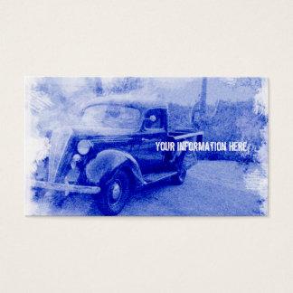 Vintage Essex-Terraplane Pickup Business Cards