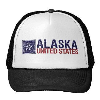 Vintage Estados Unidos con la estrella - Alaska Gorra