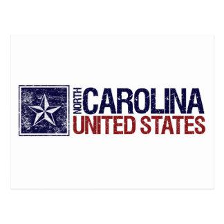 Vintage Estados Unidos con la estrella - Carolina Postales