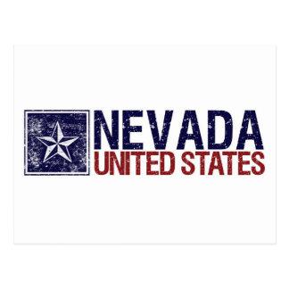 Vintage Estados Unidos con la estrella - Nevada Postal