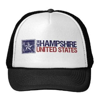 Vintage Estados Unidos con la estrella - New Hamps Gorra