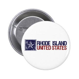 Vintage Estados Unidos con la estrella - Rhode Isl Pins
