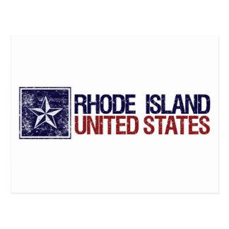 Vintage Estados Unidos con la estrella - Rhode Postal