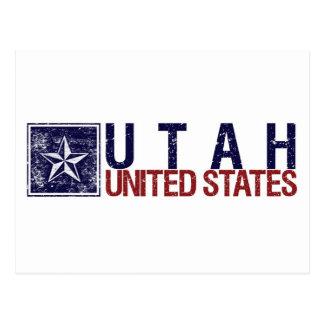 Vintage Estados Unidos con la estrella - Utah Postal