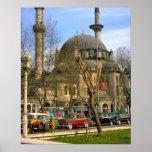 Vintage Estambul, mezquita de Hagia Sophia Impresiones