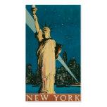 """Vintage """"estatua de la libertad"""" New York City Tarjetas De Visita"""