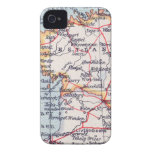 Vintage Estland Map iPhone 4 Barely-There iPhone 4 Cover