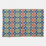 Vintage Ethnic Geometric Abstract Hand Towel