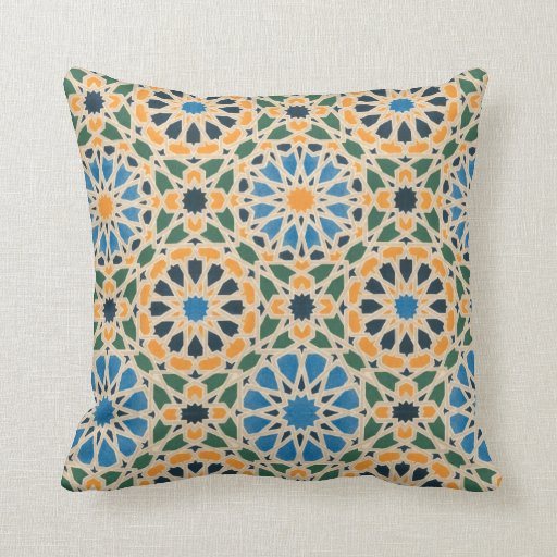 Vintage Ethnic Geometric Abstract Pillows