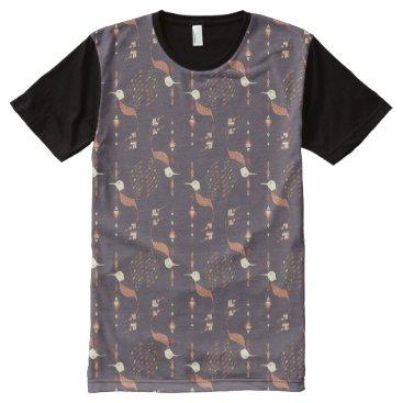 Aztec Themed Vintage ethnic tribal aztec bird All-Over-Print shirt