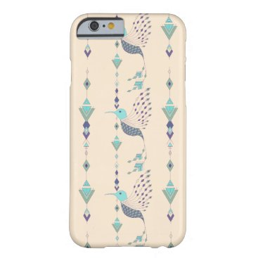 Vintage ethnic tribal aztec bird barely there iPhone 6 case