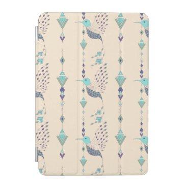 Vintage ethnic tribal aztec bird iPad mini cover