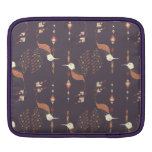 Vintage ethnic tribal aztec bird iPad sleeve