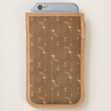 Vintage ethnic tribal aztec bird iPhone 6/6S case