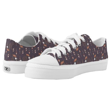 Aztec Themed Vintage ethnic tribal aztec bird Low-Top sneakers
