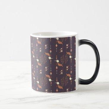 Vintage ethnic tribal aztec bird magic mug