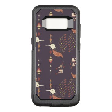 Aztec Themed Vintage ethnic tribal aztec bird OtterBox commuter samsung galaxy s8 case