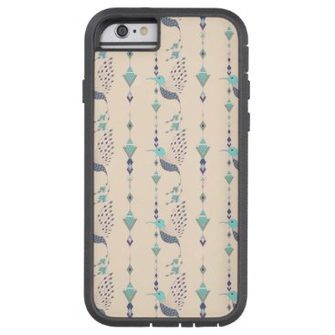 Vintage ethnic tribal aztec bird tough xtreme iPhone 6 case