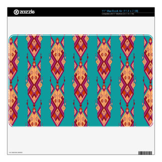 Vintage ethnic tribal aztec ornament decal for MacBook