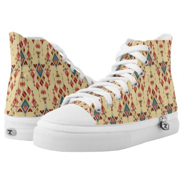 Aztec Themed Vintage ethnic tribal aztec ornament High-Top sneakers
