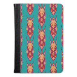 Vintage ethnic tribal aztec ornament kindle case