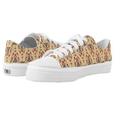 Aztec Themed Vintage ethnic tribal aztec ornament Low-Top sneakers
