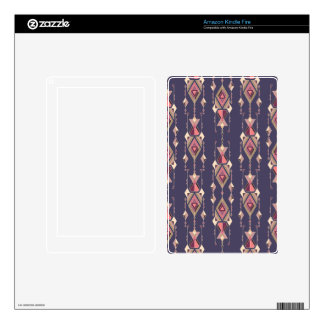 Vintage ethnic tribal aztec ornament skin for kindle fire