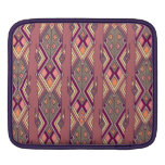Vintage ethnic tribal aztec ornament sleeve for iPads