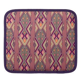 Vintage ethnic tribal aztec ornament sleeve for iPads