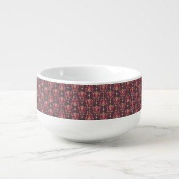 Vintage ethnic tribal aztec ornament soup mug