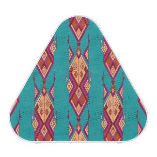 Vintage ethnic tribal aztec ornament speaker
