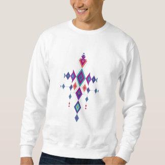 Vintage ethnic tribal aztec ornament sweatshirt
