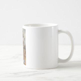 Vintage Europe Air Travel Ad Coffee Mugs