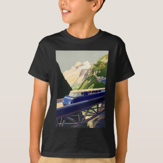 Vintage Europe Rail Travel T-Shirt