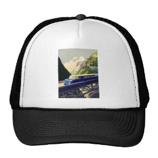 Vintage Europe Rail Travel Trucker Hat
