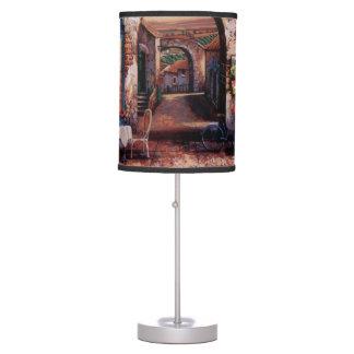 Vintage European Cafe Table Lamp