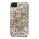Vintage European Map iPhone 4 Barely-There iPhone 4 Covers