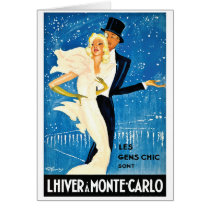 Vintage European Winter in Monte Carlo Travel