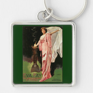 Vintage Eva Fay, The High Priestess of Mysticism Keychain