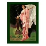 Vintage Eva Fay, The High Priestess of Mysticism Postcard