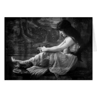 Vintage Evelyn 1913 Nesbit Tarjetas