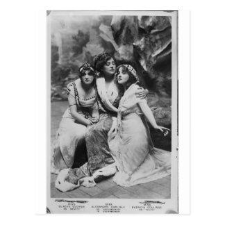 Vintage Everywoman promocional Postal